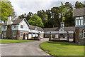 SD3791 : Stable yard, Graythwaite Hall by Ian Capper