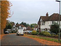 TQ4265 : Lakeside Drive, Bromley by Chris Whippet