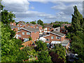 SO8375 : Modern housing at Aggborough in Kidderminster, Worcestershire by Roger  Kidd
