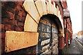 SJ9043 : P.K. Radiators, Longton (car repair and maintenance business) by Stu JP