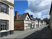 SO2956 : Duke Street, Kington by Des Blenkinsopp