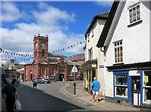 SO2956 : Kington Town Centre by Des Blenkinsopp
