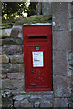 NY6234 : George VI Postbox at Row by Ian S