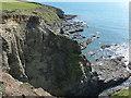 SW6226 : Bullion Cliff by Richard Law