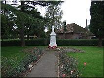 TF5002 : War Memorial, Upwell by JThomas