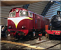 J4180 : Preserved locomotive, Ulster Folk & Transport Museum by Rossographer