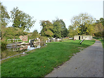SU6570 : Lock 102, Kennet and Avon Canal by Robin Webster