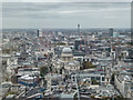 TQ3380 : View from the Sky Garden, Fenchurch Street, London by Christine Matthews