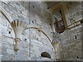 SO8001 : Woodchester Mansion - Vaulting corbels by Rob Farrow
