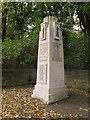 SE2431 : Farnley war memorial - detail (1) by Stephen Craven