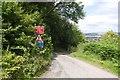 SO5180 : A steep hill, Hayton's Bent by Richard Webb