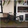 SO5174 : Butcher's bike, Ludlow by Richard Webb