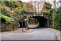 SD5307 : Rail Bridge Over Gathurst Road by David Dixon