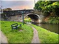 SD5407 : Leeds and Liverpool Canal, Gathurst Bridge by David Dixon