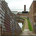 SP0487 : Canal towpath, Soho Loop by Alan Murray-Rust