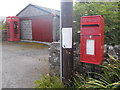 HY6841 : Sanday: postbox № KW17 51, Lady by Chris Downer