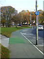 NZ3081 : Cycleway alongside Princess Louise Road, Blyth by Oliver Dixon