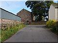 NY6627 : Slakes Farm near Knock by Ian S