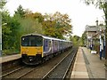 SK0579 : Train to Manchester at Chapel-en-le-Frith by Alan Murray-Rust