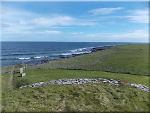 HY6737 : Sanday: the coast of Els Ness by Chris Downer