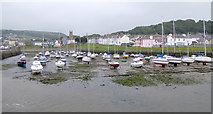 SN4562 : The harbour at Aberaeron, Ceredigion by Roger  Kidd