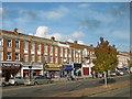 TQ1990 : Parade of shops in Mollison Way, Edgware by Marathon