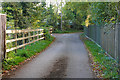 SU8771 : Gibbins Lane, Newell Green by Alan Hunt