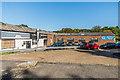 TQ2350 : Buckland Garage by Ian Capper