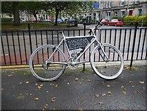 NT2572 : Advertising bike by Richard Webb