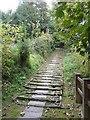 ST9151 : Church Steps, Bratton by Penny Mayes