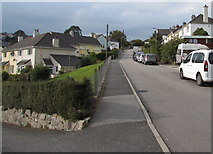 SW7834 : Up Saracen Way, Penryn by Jaggery