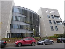 SX9392 : University medical school buildings, Barrack Road, Exeter (1) by David Smith