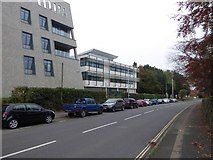 SX9392 : University medical school buildings, Barrack Road, Exeter (2) by David Smith