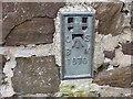 SX2496 : Ordnance Survey Flush Bracket 1676 by Peter Wood