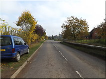 TM3669 : A1120 Chapel Street, Sibton by Adrian Cable
