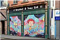 J3374 : Decorated shutter door, North Street, Belfast (November 2015) by Albert Bridge