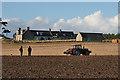 NJ2468 : Oakenhead Farm by Anne Burgess