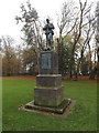 TM1644 : Suffolk Soldiers Memorial in Christchurch Park by Geographer