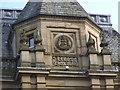 SE2933 : Former Leeds School Board building - detail by Stephen Craven