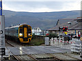 SH6115 : The Barmouth Level Crossing by John Lucas