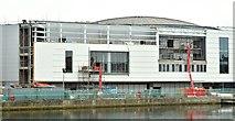 J3474 : The Waterfront Hall, Belfast - November 2015(2) by Albert Bridge