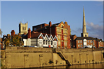 SO8454 : Worcester from the River Severn by Stephen McKay