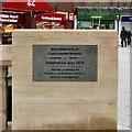 SJ8990 : Restoration of Lancashire Bridge by Gerald England
