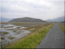 SH6214 : Mawddach estuary near Morfa Mawddach (2) by Richard Vince