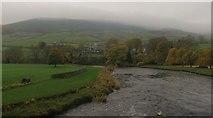 SE0361 : The River Wharfe from Burnsall bridge. by steven ruffles