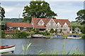 SU7885 : Riverside properties by N Chadwick