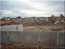 SU1585 : Demolition site, Manchester Road by Vieve Forward