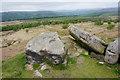 SK2576 : Rocks on White Edge by Bill Boaden