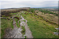 SK2677 : Footpath on White Edge by Bill Boaden