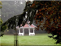 TM1645 : Pavilion in Christchurch Park by Adrian Cable